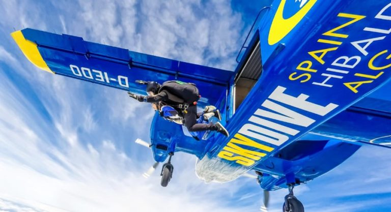 Escape Mijas for the weekend: Skydive in Seville